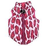 Smalllee_Lucky_Store Hundegeschirr, Mantel, Weste, für kleine Katzen/Hunde/Haustiere, Winterkleidung, gepolstert
