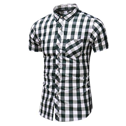 Herren Top Gun Kostüm Herren Shirt Weiss Herren t-Shirts 3XL Herren Tops Slim Fit Herren Poloshirts Kurzarm Weiss (Kurt Cobain Kostüm Shirt)