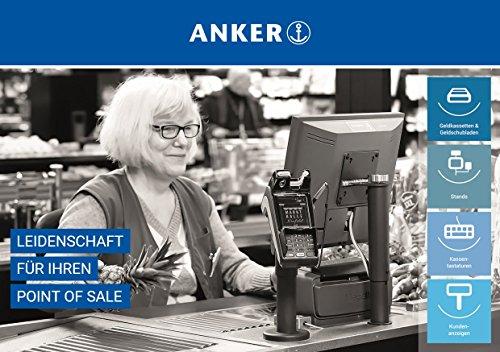 ANKER VESA 75/100 Halterung für Displays oder All in One Kassen Höhe 220 mm