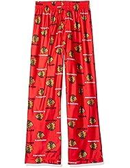 Chicago Blackhawks Jeunesse Youth NHL Logo Pajama Pants