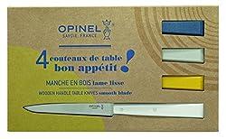 Opinel Set Of 4 Table Knives N°125 Bon Appetit Celeste