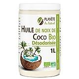 Huile de Coco Bio Désodorisée - 1L - Sans...