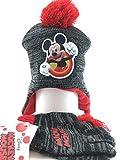 Beanie Cap–Mickey Maus –, NIP Berkshire W/Handschuhe Set Jugend/Kinder Hat New 262003