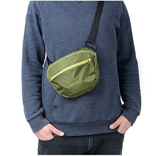 Naturehike Unisex Taille Pack Outdoor Multifunktions Tasche Sport Messenger Bag Army Green