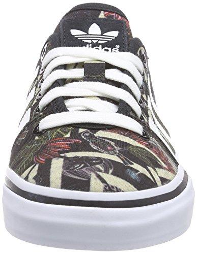 Adidas - Adria Low, Sneakers da donna Nero (core black/ftwr white/core black)