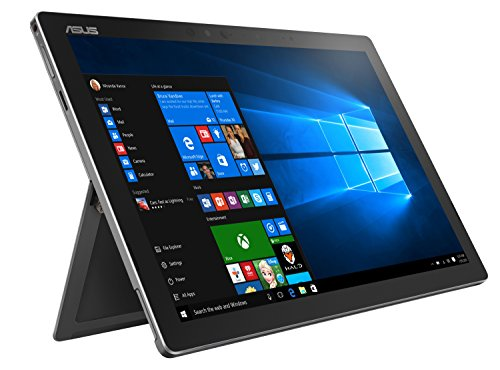 Asus Transformer 3 Pro T303UA-GN043T 32,0cm (12,6 Zoll WQHD+, Touch) Convertible Tablet-PC (Intel Core i5-6200U, 8GB RAM, 256GB SSD, Intel HD-Grafik, Windows 10 Home) grau