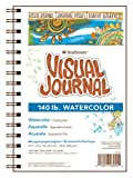"Strathmore Visual Journal Spiral Bound 9""X12""-140# Watercolor"