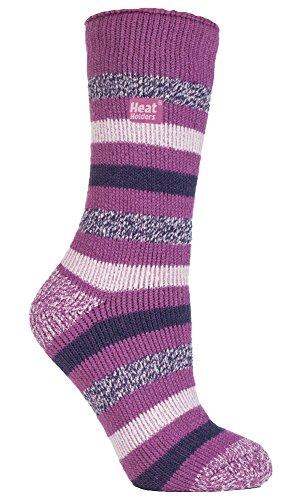 HEAT HOLDERS - Damen Warme Streifen Winter Thermosocken Socken Bunte Muster 37-42 eur (Appleby)