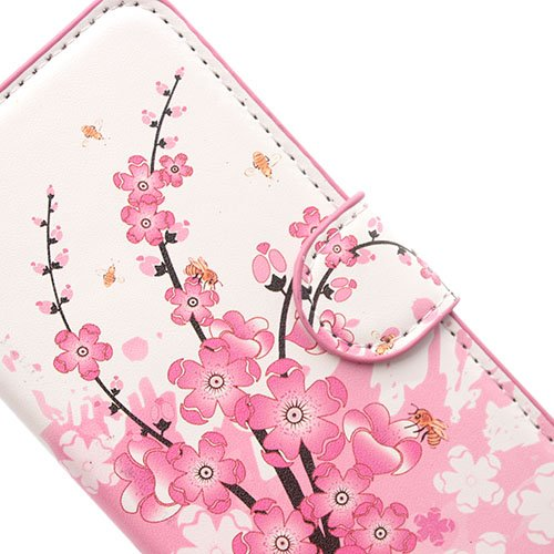 iPhone 6 6S Coque,COOLKE Flip Coque Fashion Painted Pattern Cover de Etui Housse de Protection Étui à rabat Case pour Apple iPhone 6 6S (4.7 inches) - 010 007