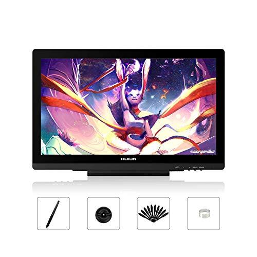 HUION KAMVAS GT-191V2 8192 Stift-Druckempfindlichkeit 19,5 Zoll HD Grafikzeichnungs-Display mit batterielosem Stylus und entspiegeltem Glasbildschirm
