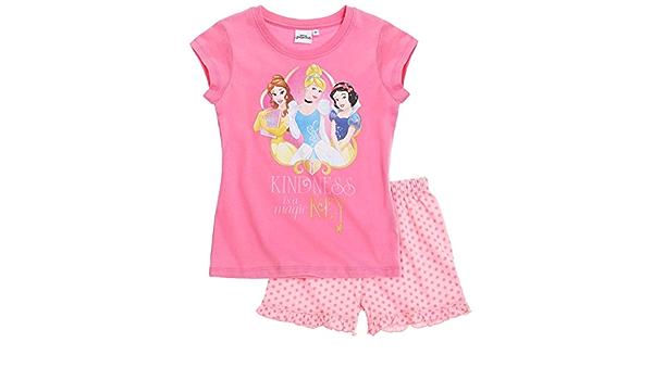 Pyjama Long Enfant Fille Princesse Elena Davalor Rouge//Marine de 4 /à 8ans