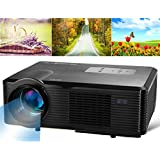 Cl740 1080P Led Hd Projector With Eu Plug (Black)