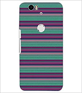 PrintDhaba Pattern D-5147 Back Case Cover for HUAWEI NEXUS 6P (Multi-Coloured)