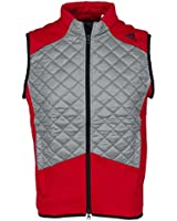 Adidas Golf 2015 Mens Climaheat Fill Vest Gilet Quilted Sleeveless Body Warmer