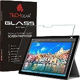 "Techgear® Microsoft Surface Pro 4(12.3""Protector de) Glass Edition Genuine Tempered Glass Screen Protector Guard Cover"