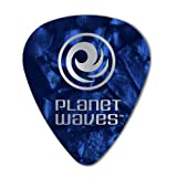 Planet Waves Médiators Planet Waves bleus, pack de 100, Extra-Heavy