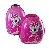 Reiseset Kinder rosa Prinzessin 2tlg Kindertrolley Kinderrucksack Kinderkoffer