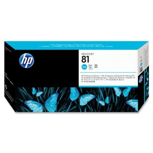 Preisvergleich Produktbild HP 81 cyan Original Druckkopf und Reiniger