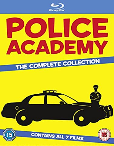 Police Academy 1-7-The Complete Collection [Blu-ray] [Import] (Collection 4 Dvd-set)