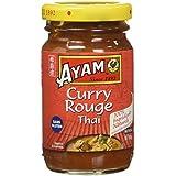 AYAM Pâte de Curry Rouge - Lot de 4