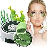 Eye Mask, Augenpads, Anti Aging Pads, Collagen Maske, Augenpflege mit Hyaluron, Feuchtigkeit Spendende, Entfernen Taschen, Dunkle Kreise & Puffiness, 60pcs/box