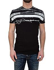 Antony Morato T-shirt homme Impression tendance O-Neck Slim Fit