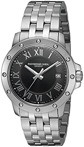 raymond-weil-mens-39mm-steel-bracelet-case-quartz-grey-dial-analog-watch-5599-st-00608
