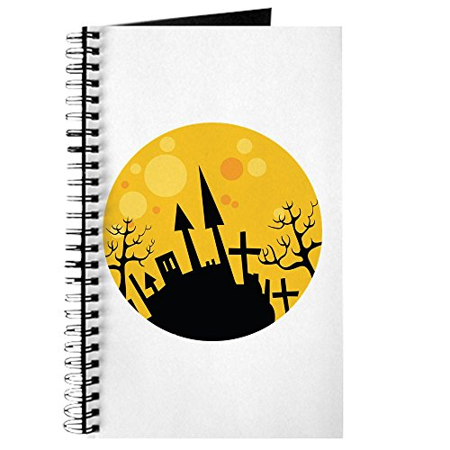 CafePress–Halloween Szene–Spiralbindung Notizbuch, persönliches Tagebuch, Aufgabe ()