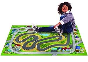 House Of Kids 11744-E2 City Racing - Alfombrilla de Juegos (100 x 150 cm)