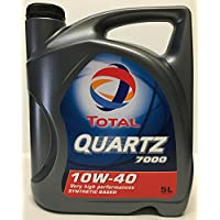 Aceite Motor TOTAL QUARTZ 7000 10W40 5 lts