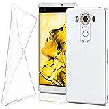 LG V10 Hülle Silikon Transparent Klar [OneFlow Clear