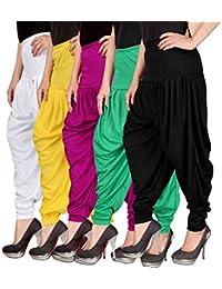 NV Trendz Women's Well Designed Lycra Dhoti Pant Patiyala Dhoti Pant Salwar Pant Harem Pant For Women And Ladies...