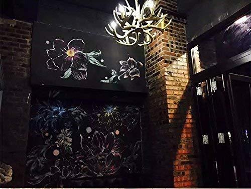 MJY Bar-Restaurant, Lüster für Lampen und Laternen Retro-Landhausstil-Kreativer ländlicher Eisen-Kronleuchter, Harz aus mehreren Köpfen E14-Kronleuchter-Licht-Dekorationstechnik,# 8 (Foyer 8 Licht Laterne)