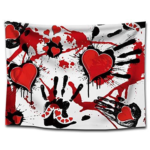 Halloween Theme Tuch Hintergrund Dekoration Hintergrund Tuch für Halloween Partydekoration Studio Foto Prop Bar Wand 100 * 75CM