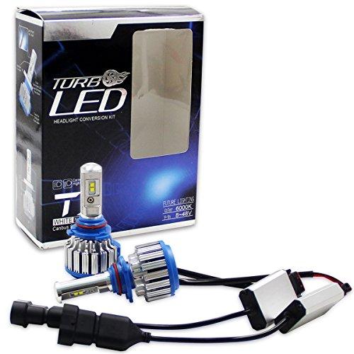Preisvergleich Produktbild Winpower Cree LED-Scheinwerfer-Lampen, komplettes Umbauset - H1 H3 H4 H7 H11 H13 9005 9006 880-7.200 Lumen 70 W 6000K Kaltwei–2Stück
