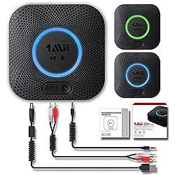 1Mii B06 Plus Récepteur Bluetooth Adaptateur Bluetooth V4.2 tragbare Récepteur sans Fil Adaptateur Audio Appareils fürheim HiFi Auto Enceinte Musique STR Sound System avec 3D