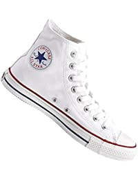 Converse - Basket - All Star Hi Montante - Classic Chuck Taylor - Optical White Blanc