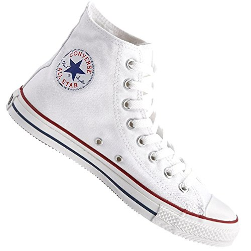 Convers'All Star-Basketball-Hi Montante Classic Chuck Taylor, Optical White, Weiß Weiß - weiß