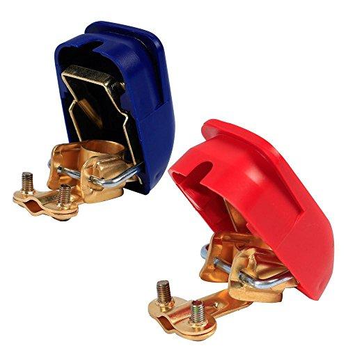 Yahee Autobatterie Schnellklemmen Polklemmen Batterieklemmen Boot KFZ PKW Boot Abdeckung Spray