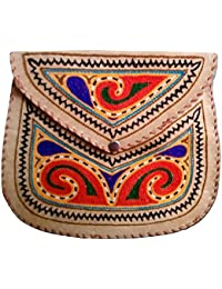 Generic Hand Made Embroider Sling Bag For Womens - B07GBQW3J3
