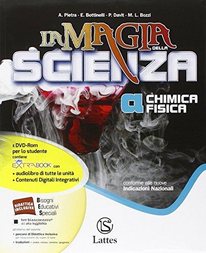 La magia della scienza. Vol. A-B-C-D. Con Mi preparo per interrogazione-Quad. competenze online. Per la Scuola media. Con DVD. Con e-book. Con espansione online