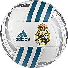adidas Real Madrid Fbl Balón Temporada 2017/2018, Hombre, Blanco (Blanco/Azuint/Plamet), 5