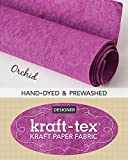 Kraft-tex Designer, Radiant Orchid: Pre-washed Roll
