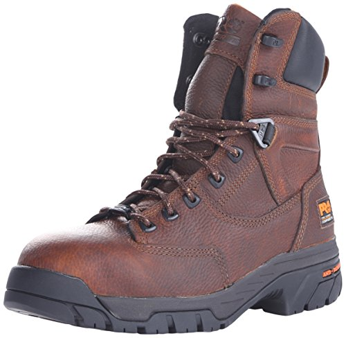 Timberland PRO Men's Helix 8 Inch Comp Toe Work Boot,Brown,8.5 W US Comp Toe Boot