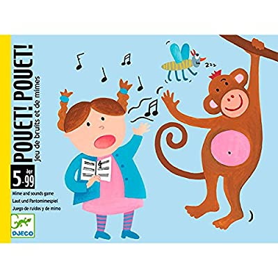 Djeco - Pouet Pouet - Jeu de mimes
