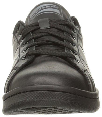Sneaker di modo di Onix delle donne di Skecher Street, bianco / oro Noir