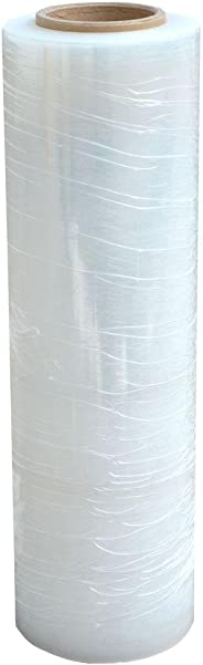 Generic RAJSW18R01 - RAJ Stretch Wrap Roll/Furniture and Luggage Packing/Wrapping Film, 18-inch/450mm (White)