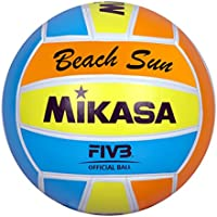 Mikasa 1632 Beach Sun - Pelota para Volley-Playa (Tamaño 5)