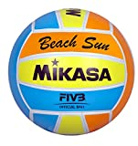 Mikasa Ball Beach Sun, Orange/Hellblau/Gelb, 5, 1632