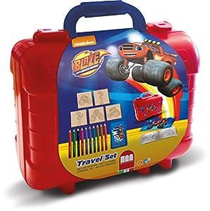 MULTIPRINT Blaze - Juegos de Sellos para niños, Caucho, Madera, 3 año(s), Italia, 230 mm, 105 mm